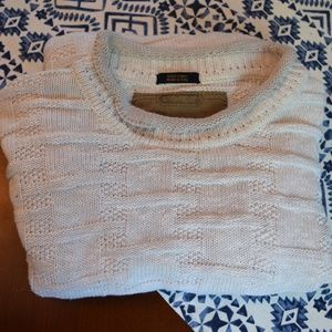 Rare! Coach cable knit shepherds sweater!